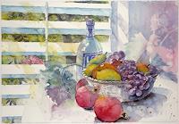 U. Hartig, Stillleben mit Früchten