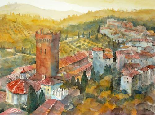 Ulrich Hartig, San Miniato, Toskana, Architecture, Interiors: Villages, Expressionism
