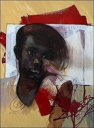 Francisco Núñez, N/T, People: Women, People: Portraits