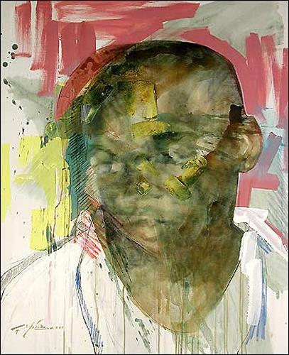 Francisco Núñez, Jose Lier III, People: Faces, People: Men, Expressionism