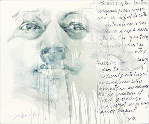Francisco Núñez, Los Ojos De Mi Padre, People: Faces, People: Portraits