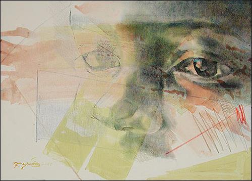 Francisco Núñez, Los Ojos De Elena, People: Faces, People: Portraits