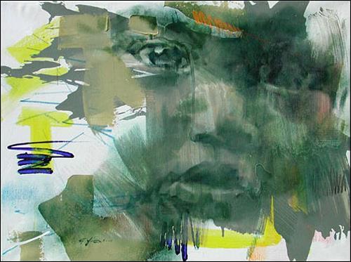 Francisco Núñez, Los Más Inconformes, People: Faces, People: Children, Expressionism