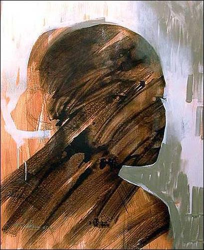 Francisco Núñez, La Hija Del Morry, People: Women, People: Portraits, Expressionism