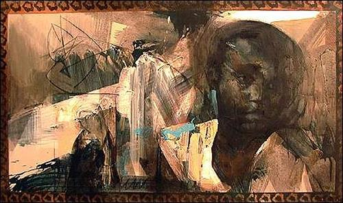 Francisco Núñez, Otra Anunciación, Religion, People: Portraits