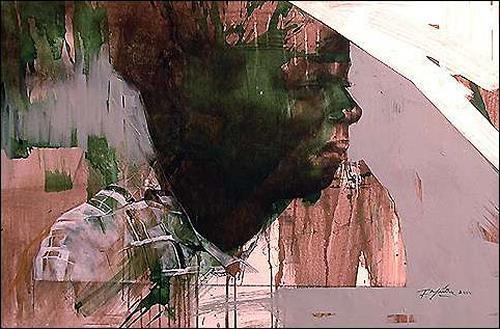 Francisco Núñez, Yo creo III, People: Faces, People: Portraits