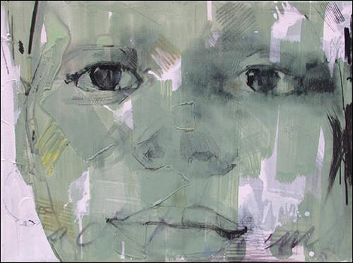 Francisco Núñez, Triptico II, People: Faces, People: Children