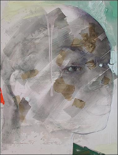Francisco Núñez, Hija Del Morry, People: Faces, People: Women, Expressionism