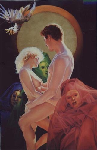 Ralf Vieweg, Liebe und Vergänglichkeit, Fantasy, Miscellaneous Erotic motifs, Symbolism