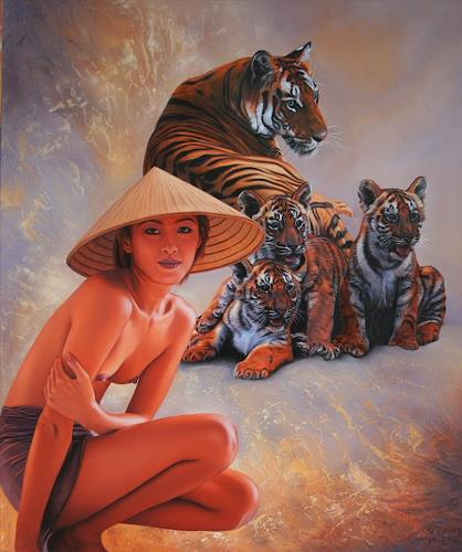 Ralf Vieweg, Asian Impressions, Animals: Land, Fantasy, Photo-Realism, Expressionism