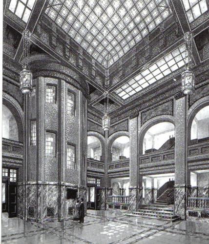 Gerd Reutter, Herschelbad Mannheim, Architecture, Sports, Art Nouveau