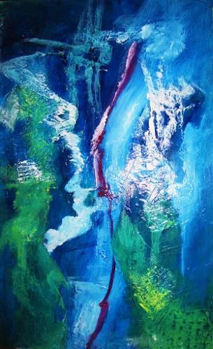 U.v.Sohns, Netzwerke, Abstract art, Technology, Contemporary Art