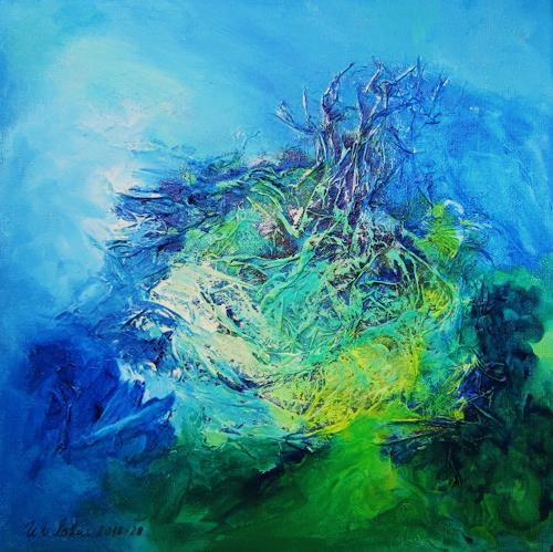 U.v.Sohns, bizarr, Abstract art, Fantasy, Abstract Art, Abstract Expressionism