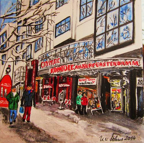 U.v.Sohns, Komödie am Kurfürstendamm, Miscellaneous Buildings, Interiors: Cities, Modern Age
