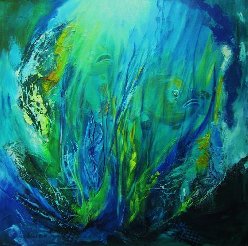U.v.Sohns, Stalker, Nature: Water, Animals: Water, Modern Age, Expressionism