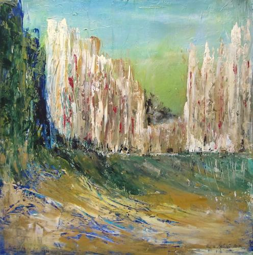 U.v.Sohns, noch o.T., Miscellaneous Buildings, Miscellaneous Landscapes, Abstract Art, Expressionism
