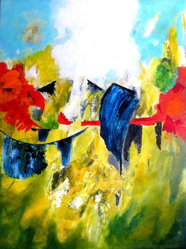U.v.Sohns, spirit of summer, Times: Summer, Miscellaneous Emotions, Contemporary Art, Abstract Expressionism