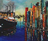 U.v.Sohns, Colored Port Impression