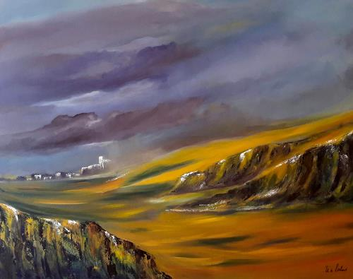 U.v.Sohns, Durchzug einer Regenfront, Nature: Miscellaneous, Abstract art, Expressive Realism, Expressionism
