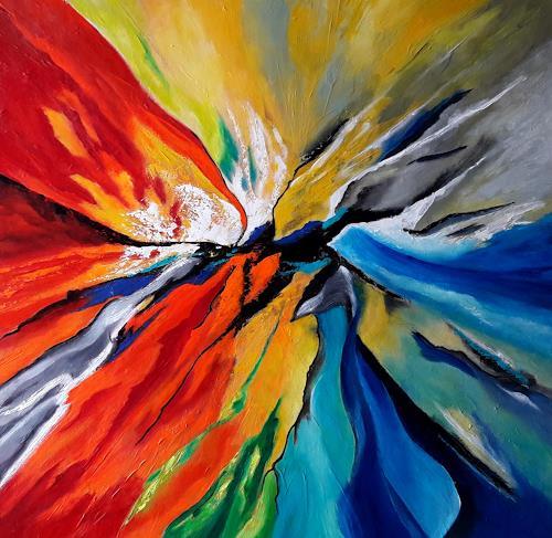 U.v.Sohns, Metamorphose der Farben, Abstract art, Decorative Art, Abstract Art