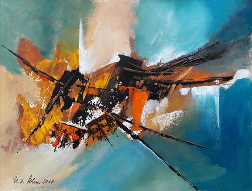 U.v.Sohns, Innovation, Abstract art, Movement, Abstract Art, Abstract Expressionism