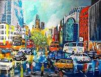 U.v.Sohns-Miscellaneous-Traffic-Miscellaneous-Buildings-Modern-Age-Expressive-Realism