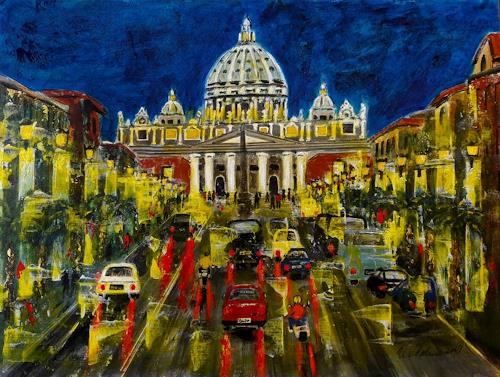 U.v.Sohns, Roma aus der Serie, Miscellaneous Buildings, Miscellaneous Traffic, Expressive Realism