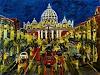 U.v.Sohns, Roma aus der Serie, Miscellaneous Buildings, Miscellaneous Traffic, Expressive Realism