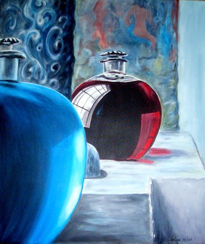 U.v.Sohns, Parfum, Decorative Art, Still life, Contemporary Art