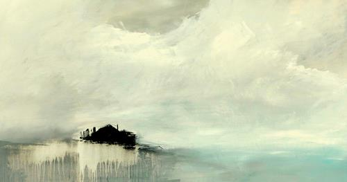 Markus Schon, One of these days, Landscapes: Sea/Ocean, Abstract Expressionism, Expressionism