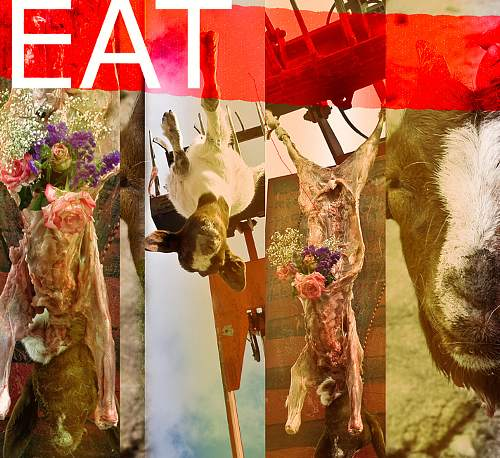 Bohin, Meat, Still life, Market, Contemporary Art, Abstract Expressionism