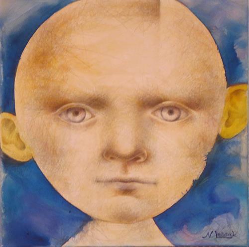 Natalja Lebsak, Kopf, People: Faces, People: Portraits, Others, Abstract Expressionism