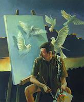Gregor-Ziolkowski-Humor-People-Portraits-Modern-Age-Avant-garde-Surrealism