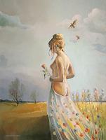 Gregor-Ziolkowski-Landscapes-Spring-Erotic-motifs-Female-nudes-Modern-Age-Avant-garde-Surrealism