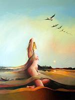 Gregor-Ziolkowski-Landscapes-Autumn-Erotic-motifs-Female-nudes-Modern-Age-Avant-garde-Surrealism