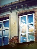 Gregor-Ziolkowski-Buildings-Houses-Miscellaneous-Romantic-motifs-Modern-Age-Impressionism