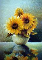 Gregor-Ziolkowski-Plants-Flowers-Still-life-Modern-Age-Impressionism