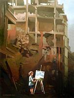 Gregor-Ziolkowski-Landscapes-People-Children-Modern-Age-Avant-garde-Surrealism