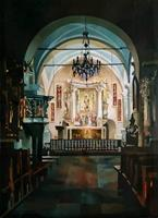Gregor-Ziolkowski-Miscellaneous-Landscapes-Buildings-Churches-Modern-Age-Impressionism