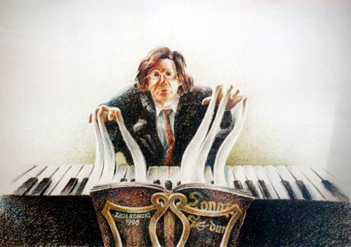 Gregor Ziolkowski, PIANIST, Music: Musicians, Humor, Surrealism