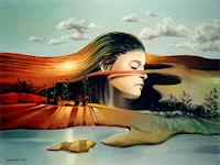 Gregor-Ziolkowski-Landscapes-Autumn-People-Women-Modern-Age-Avant-garde-Surrealism