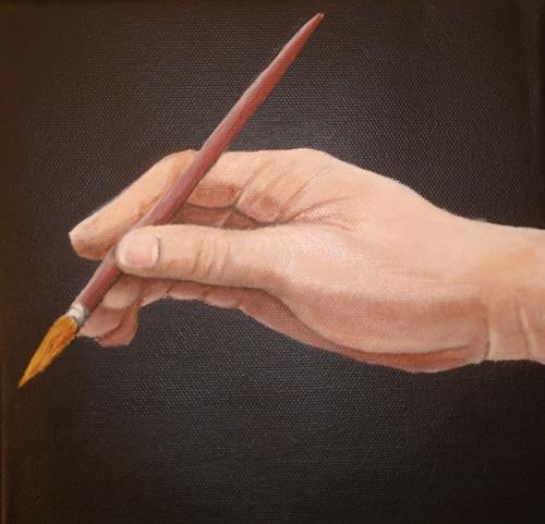 Andrea Bräuning, The artists hand, Symbol, Realism