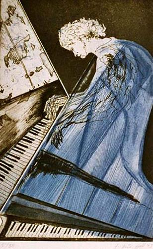 Frieder Hülshoff, Piano, Music: Musicians, Contemporary Art, Abstract Expressionism