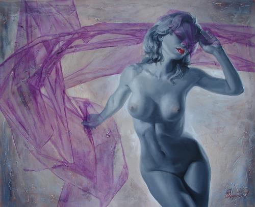 Sergey Ignatenko, Doll, Erotic motifs: Female nudes, People: Women, Expressionism