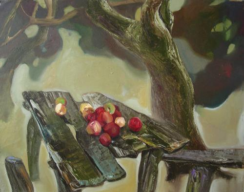Sergey Ignatenko, Fallen apples, Plants: Fruits, Harvest