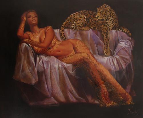 Sergey Ignatenko, Def Leppard, People: Women, Animals: Land, Expressionism