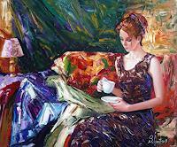 S. Ignatenko, Evening coffee
