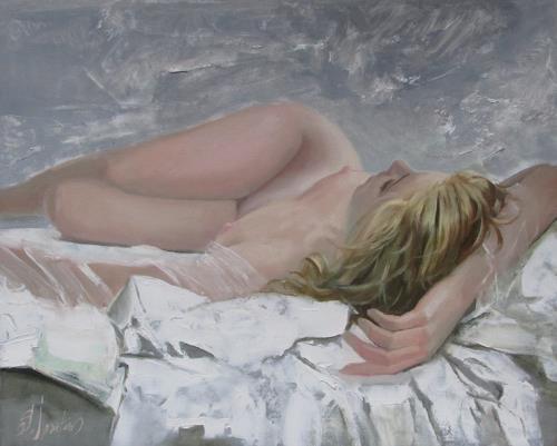 Sergey Ignatenko, Snow queen, Erotic motifs: Female nudes, People: Women