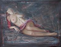 Sergey-Ignatenko-Erotic-motifs-Female-nudes-People-Women