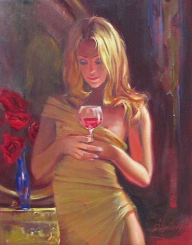 Sergey Ignatenko, Beaujolais nouveau, Erotic motifs: Female nudes, People: Women